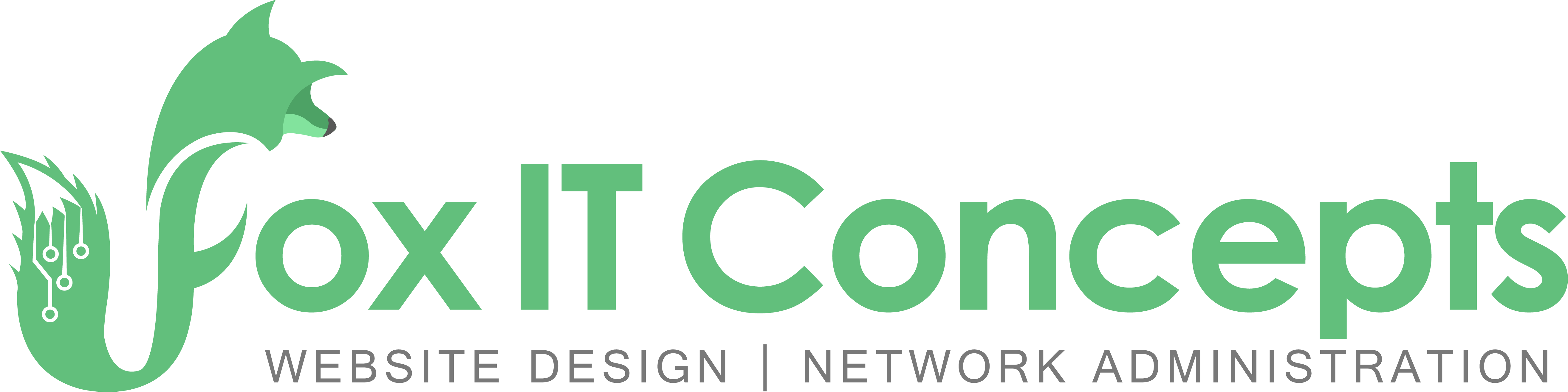 Steven's Logo for his IT business, Fox IT Concepts, was established in January 2018.